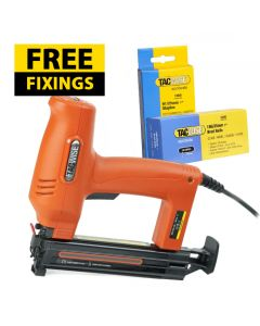 Tacwise Duo 35 Pro Electric Nail / Staple Gun - Comes with 1,000 25mm Staples & 5,000 25mm Nails FREE - 1165