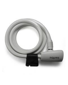 Squire 116 WHITE - Key Operated Cable Lock 10mm x 1800mm - White