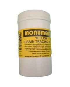 Monument 4oz Yellow Drain Dye - MON1265H