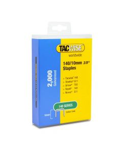 Tacwise 140 Staples 10mm (2,000 Retail Pack) - 1418