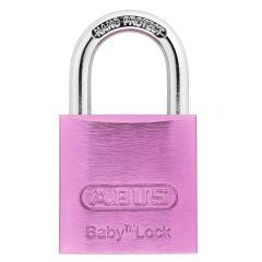 ABUS 645TI/30 Baby Lock Pale Pink