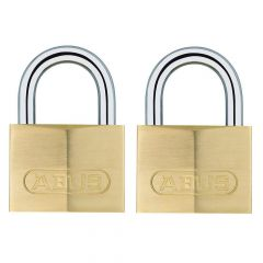 ABUS Brass 713/40 Twin Pack