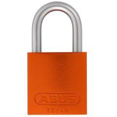ABUS Aluminium 72LL/40 Love Lock Orange