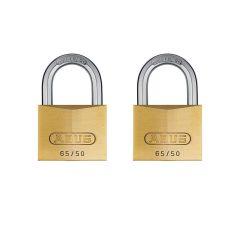 ABUS Premium 65/50 Twin Pack