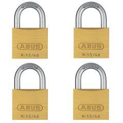 ABUS Solid 55/40 Quad Pack
