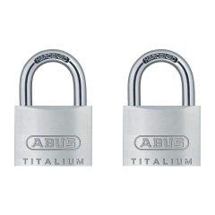 ABUS Titalium 54TI/40 Twin Pack