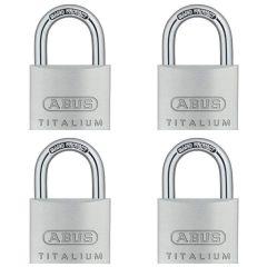 ABUS Titalium 64TI/40 Quad Pack
