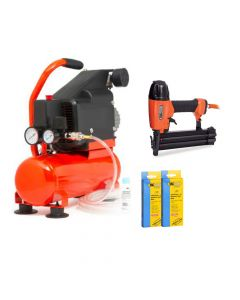 Tacwise Air Compressor Nail Kit - TACAIRKIT2