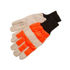 ALM Manufacturing Chainsaw Safety Gloves - Left Hand protection - ALMCH015