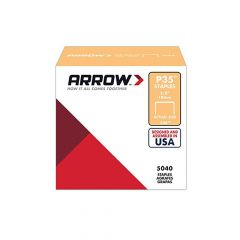 "Arrow P35 Staples 10mm 3/8"" (Approx 5000 Box) - 356"