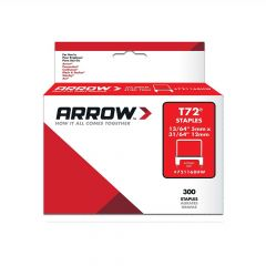 Arrow T72 Clear Insulated Staples 12 x 5mm (300 Box) - 721168