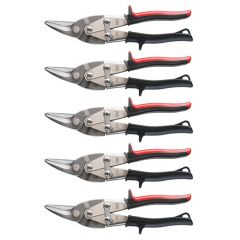 Bessey Aviation snips D16L-SB 5 Pack