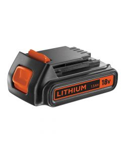 Black & Decker Slide Battery Pack 18V 1.5Ah Li-Ion BL1518 - B/DBL1518