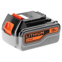 Black & Decker Slide Battery Pack 18V 4.0Ah Li-Ion - B/DBL4018