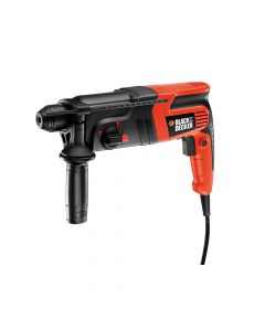 Black & Decker SDS 3-Mode Hammer Drill 600W 240V - B/DKD860KA