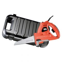 Black & Decker Scorpion Powered Handsaw & Kitbox 400W 240V - B/DKS890EK