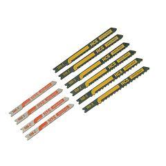 Black & Decker X27000 Assorted Jigsaw Blade Set 10 Piece - B/DX27000