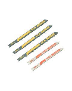Black & Decker X27040 Assorted Jigsaw Blade Set 5 Piece - B/DX27040