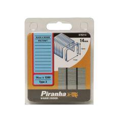 Black & Decker X70214 Flat Wire Staples 14mm Pack 1200 - B/DX70214