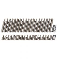 BlueSpot Tools Mixed Hex, Spline & TORX Bit Set, 40 Piece - B/S1517