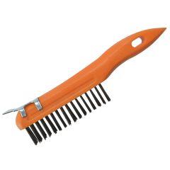BlueSpot Tools Plastic Wire Brush & Scraper - B/S22523