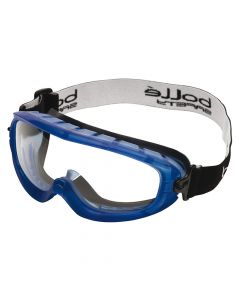 Bolle Safety Atom Safety Goggles Clear - Ventilated Foam Seal - BOLATOFAPSI