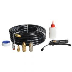 Bostitch 15m Hose with Connectors & Oil - BOSCPACK15