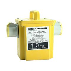 Carroll & Meynell Transformer Twin Outlet Rating 1Kva Continuous 500va - C/M10002