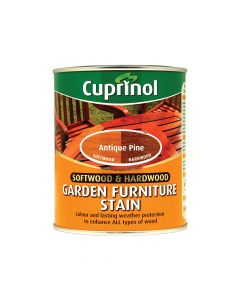 Cuprinol Softwood & Hardwood Garden Furniture Stain Antique Pine 750ml - CUPGFSAP750