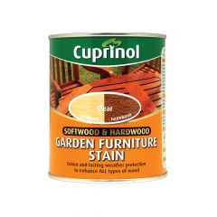 Cuprinol Softwood & Hardwood Garden Furniture Stain Clear 750ml - CUPGFSC750