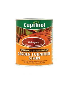 Cuprinol Softwood & Hardwood Garden Furniture Stain Mahogany 750ml - CUPGFSM750