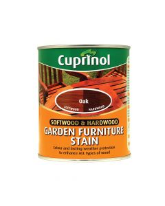 Cuprinol Softwood & Hardwood Garden Furniture Stain Oak 750ml - CUPGFSO750
