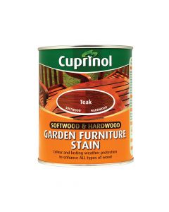 Cuprinol Softwood & Hardwood Garden Furniture Stain Teak 750ml - CUPGFST750