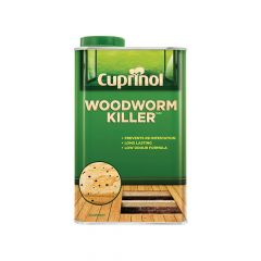 Cuprinol Low Odour Woodworm Killer 1 Litre - CUPWW1L