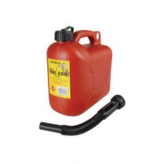 Silverhook Leaded Petrol Can & Spout Red 5 Litre - D/ICAN1
