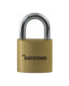 Defender 30mm Brass Padlock - DFBP3