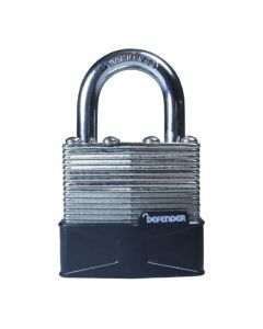 Defender 40mm Laminated Padlock Keyed Alike - DFLAM40KA1