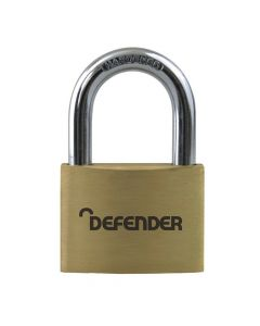 Defender 50mm Brass Padlock - DFBP5