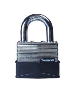 Defender 50mm Laminated Padlock Keyed Alike - DFLAM50KA1