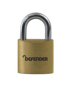 Defender 60mm Brass Padlock - DFBP6