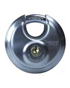Defender 70mm Discus Padlock Keyed Alike - DFDC70KA1