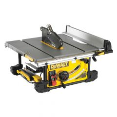 DEWALT Portable Site Saw 250mm & DE7400 Stand 1850W 110V - DEW745RSL