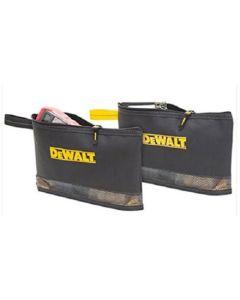 Dewalt 2 Multi-Purpose Zippered Bags - DEWDG5102