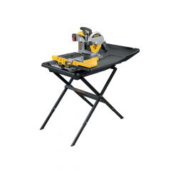 DEWALT Wet Tile Saw with Slide Table 1600 Watt 240 Volt - DEWD24000