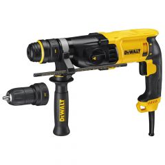 DEWALT SDS Plus 3 Mode QCC Hammer Drill 800W 110V - DEWD25134KL
