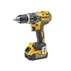 DEWALT XR Brushless Compact Hammer Drill 18V 2 x 5.0Ah Li-Ion - DEWDCD796P2