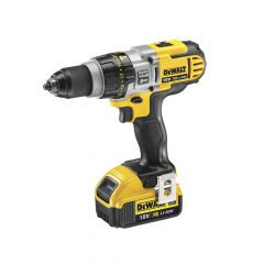 DEWALT XRP Premium Combi Hammer Drill 18V 2 x 4.0Ah Li-Ion - DEWDCD985M2
