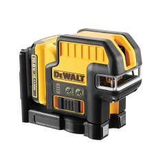 DEWALT 5 Spot Cross Line Laser Green 10.8V 1 x 2.0Ah Li-ion - DEWDCE825D1G