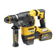 DEWALT Brushless Q/C Chuck SDS Plus Hammer 18/54V 2 x 9.0/3.0Ah Li-Ion - DEWDCH334X2