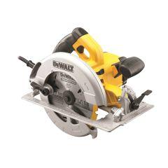 DEWALT Precision Circular Saw & Kitbox 190mm 1600W 110V - DEWDWE575KL
